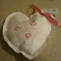 Recycling Postal Mailers: How-To Make a Valentine's Day Heart Pocket