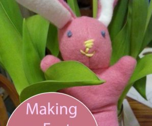 Here Comes Peter Cottontail: Making an Easter Bunny Plushie