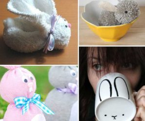 25 Really Cute Bunny Crafts for Easter