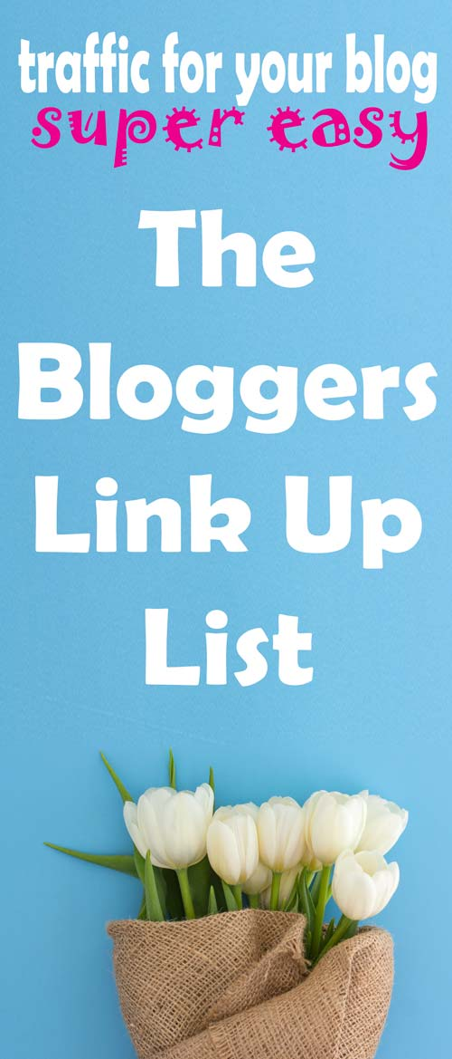 A massive list of link up parties for bloggers to submit. Drive traffic to your web site with linky parties! #seo #traffic #website