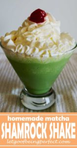 Simple, delicious matcha shamrock shake knockoff recipe. Not exactly healthy, but a great way to boost your antioxidants inside of a sweet treat. #foodporn