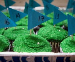 18 Hole Golf Cupcakes: Happy Father's Day