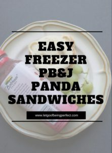 Make these adorable peanut butter and jelly panda sanwiches! This sandwich is a great make-ahead sandwhich for school lunches to help save time and save money. Stick the panda sandwich in the freezer and pair up with some fruit and a drink for a fast, easy, low-cost lunch alternative. A child-friendly recipe, too. Explore the web site for more cooking and recipe tutorials with good, clear photos and instructions. It's pandamonium over here at http://letgoofbeingperfect.com/