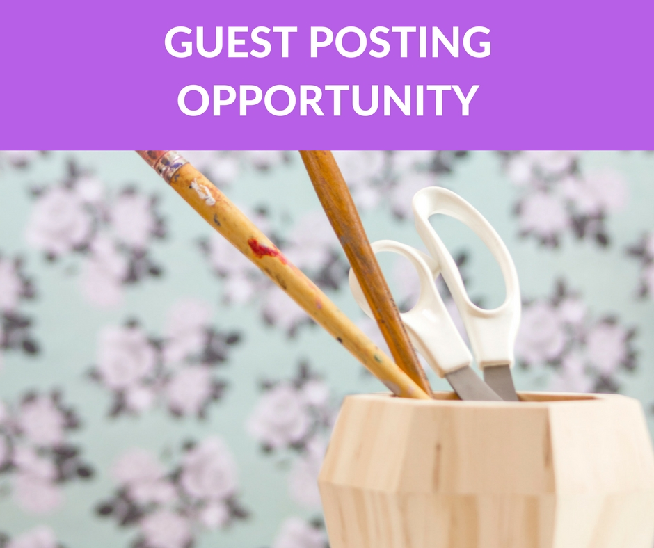 Guest posting for other bloggers can be a wonderful opportunity to create double traffic! Not only does your guest poster promote your site, but the hosting blogger also promotes your site. Guest posting is collaboration at its best.